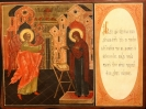 """2624n: Double-sided icon. """"Annunciation"""" Sold"""